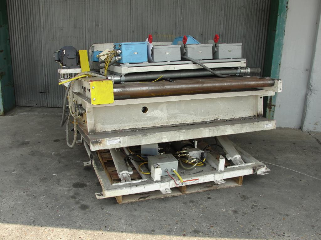 Used Bluearc Powered Roller Conveyor For Sale